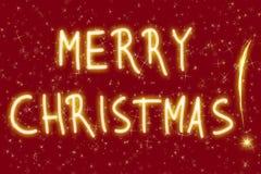 ¡Feliz Navidad! Foto de archivo