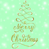 Feliz Navidad 2 Fotografía de archivo libre de regalías