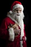 Feliz Navidad asustadizo Foto de archivo libre de regalías