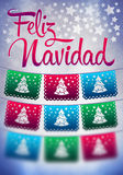 Feliz Navidad - blurred background Royalty Free Stock Photography