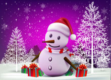 ¡Feliz Navidad! Compañeros de la feliz Navidad Foto de archivo libre de regalías