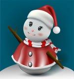 ¡Feliz Navidad! Compañeros de la feliz Navidad Fotografía de archivo libre de regalías
