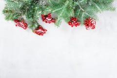 Feliz Navidad de la tarjeta congratulatoria y Año Nuevo Imagen de archivo