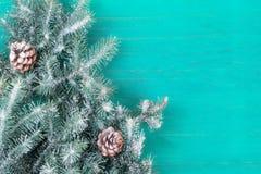 Feliz Navidad de la tarjeta congratulatoria y Año Nuevo Fotos de archivo libres de regalías