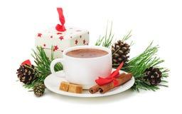 Feliz Navidad de la tarjeta de felicitación Fotos de archivo libres de regalías