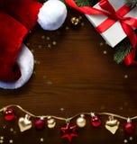 Feliz Navidad del arte del arte y Feliz Año Nuevo; Árbol de navidad y S Fotos de archivo