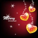 Feliz Navidad elegante Fotos de archivo libres de regalías