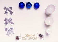 Feliz Navidad estimada Foto de archivo libre de regalías