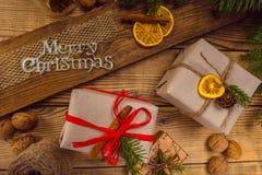 Feliz Navidad estimada Foto de archivo