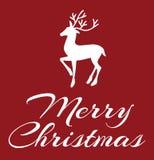Feliz Navidad Greeting Card Photos libres de droits