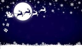 Feliz Navidad, invitación, postal, invierno Imagen de archivo libre de regalías