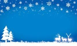 Feliz Navidad, invitación, postal, invierno Fotos de archivo