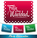 Feliz Navidad - Mexican decoration Stock Photography