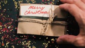 Feliz Navidad Presentes y enhorabuena metrajes