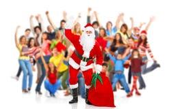 Feliz Navidad Santa Imagen de archivo libre de regalías