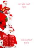 Feliz Navidad Santa imagen de archivo