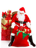 Feliz Navidad Santa imagenes de archivo