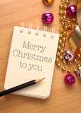Feliz Navidad a usted Imagenes de archivo