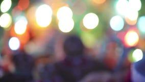 Feliz Navidad Vídeo atmosférico de la Navidad Celebración de familia Ginger Biscuits Feliz Año Nuevo almacen de metraje de vídeo