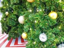 Feliz Navidad y Feliz Año Nuevo Fotografía de archivo