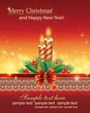 Feliz Navidad y Feliz Año Nuevo 2019 Tarjeta de Navidad libre illustration