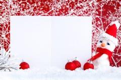 Feliz Navidad y Feliz Año Nuevo Un fondo con las decoraciones del Año Nuevo, fondo del ` s del Año Nuevo con el espacio de la cop Imagen de archivo