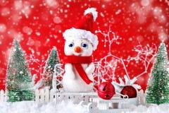 Feliz Navidad y Feliz Año Nuevo Un fondo del ` s del Año Nuevo con las decoraciones del Año Nuevo, Imagenes de archivo
