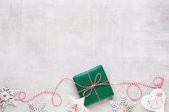 Feliz Navidad y buenas fiestas tarjeta de felicitación foto de archivo libre de regalías
