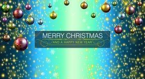 Feliz Navidad y Feliz Año Nuevo 2015 libre illustration