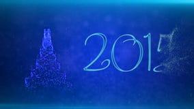 Feliz Navidad y Feliz Año Nuevo libre illustration