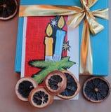 Feliz Navidad y Feliz Año Nuevo 1 de los deseos Imágenes de archivo libres de regalías