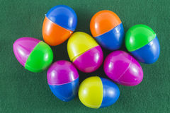 Feliz Navidad y Feliz Año Nuevo, huevos de Pascua imagen de archivo