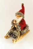 Feliz Navidad y Feliz Año Nuevo, Santa Claus modelo - Christma Imagen de archivo