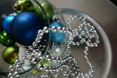 Feliz Navidad y una decoración de las tarjetas de la Feliz Año Nuevo Fotos de archivo libres de regalías