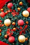 Feliz no Natal Imagens de Stock Royalty Free