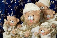 Feliz, osos Foto de archivo libre de regalías