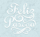 Feliz Pascoa Fotografie Stock