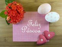 Feliz Pascoa Royalty Free Stock Image