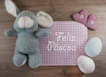 Feliz Pascoa Royalty Free Stock Photo