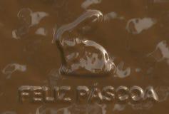 Feliz Pascoa (Text serie) Stock Photo