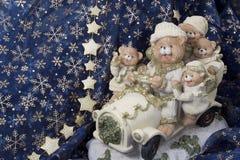 Feliz, ursos Imagens de Stock Royalty Free