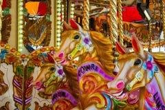 Feliz va la ronda Imagen de archivo libre de regalías