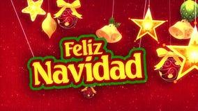 Felize Navidad stock video