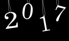 2017 felizes Imagens de Stock
