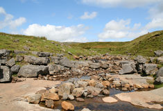 Fell Beck, Ingleborough. Stock Photos