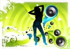Fell in Love with Music vector illustration