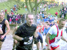 Fell race, Derbyshire. Stock Photos