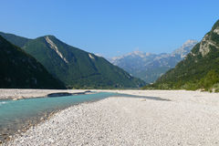 Fella river, Northeast Italy Stock Photography