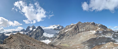 Fellaria glaciär Arkivbilder