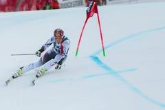 FELLER Manuel (AUT). Alta Badia, ITALY 22 December 2013. FELLER Manuel (AUT) competing in the Audi FIS Alpine Skiing World Cup MEN'S GIANT SLALOM Stock Images